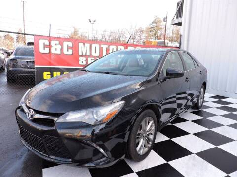 2016 Toyota Camry for sale at C & C Motor Co. in Knoxville TN