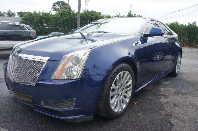2012 Cadillac CTS for sale at American Classics Autotrader LLC in Pompano Beach FL
