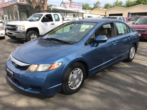 2009 Honda Civic for sale at EXPRESS CREDIT MOTORS in San Jose CA