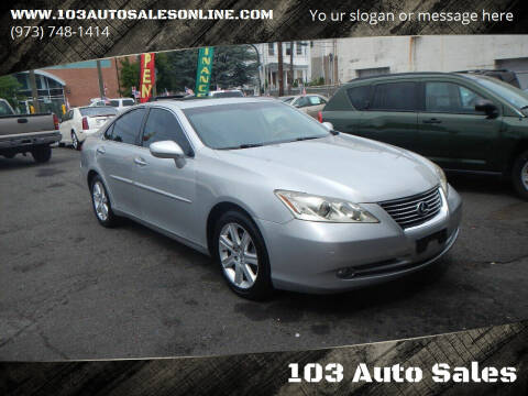 2008 Lexus ES 350 for sale at 103 Auto Sales in Bloomfield NJ