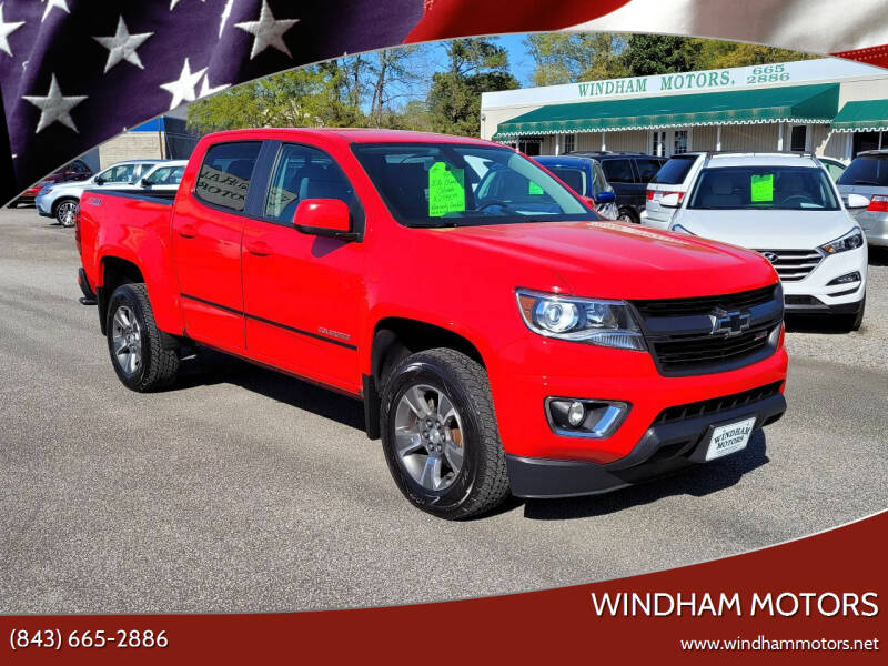 2016 Chevrolet Colorado for sale at Windham Motors in Florence SC