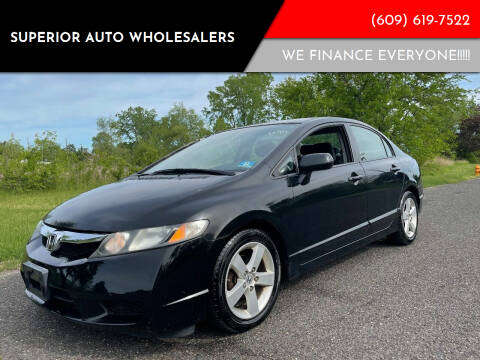 2009 Honda Civic for sale at Superior Auto Wholesalers in Burlington NJ