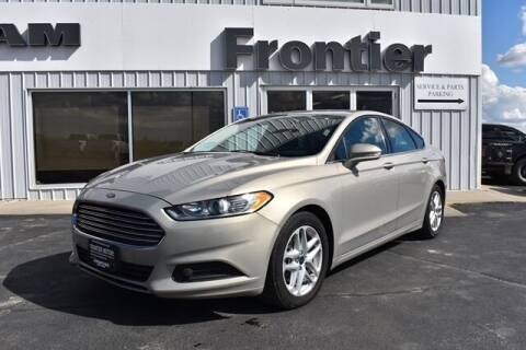 2015 Ford Fusion for sale at Frontier Motors Automotive, Inc. in Winner SD