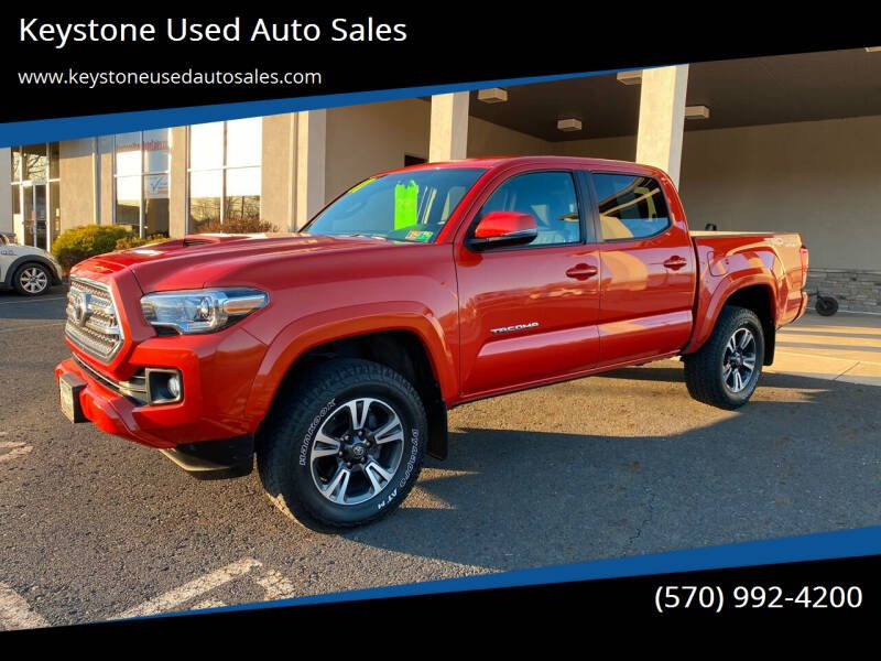 2017 Toyota Tacoma for sale at Keystone Used Auto Sales in Brodheadsville PA