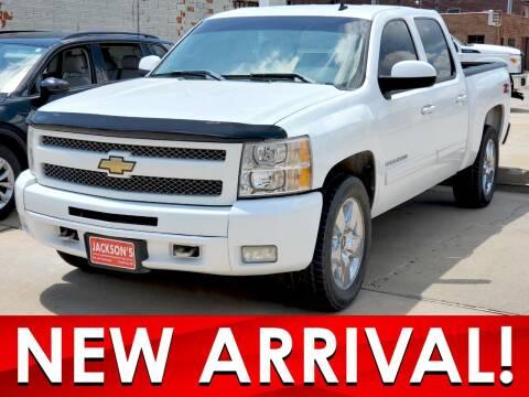 2011 Chevrolet Silverado 1500 for sale at Jacksons Car Corner Inc in Hastings NE