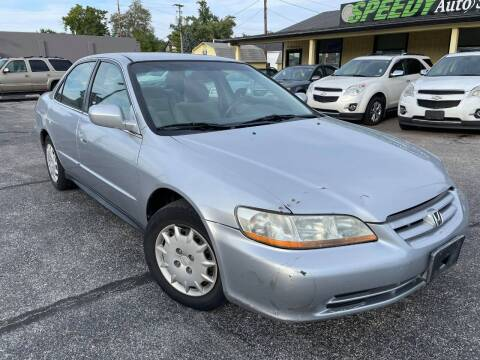 2002 Honda Accord for sale at speedy auto sales in Indianapolis IN
