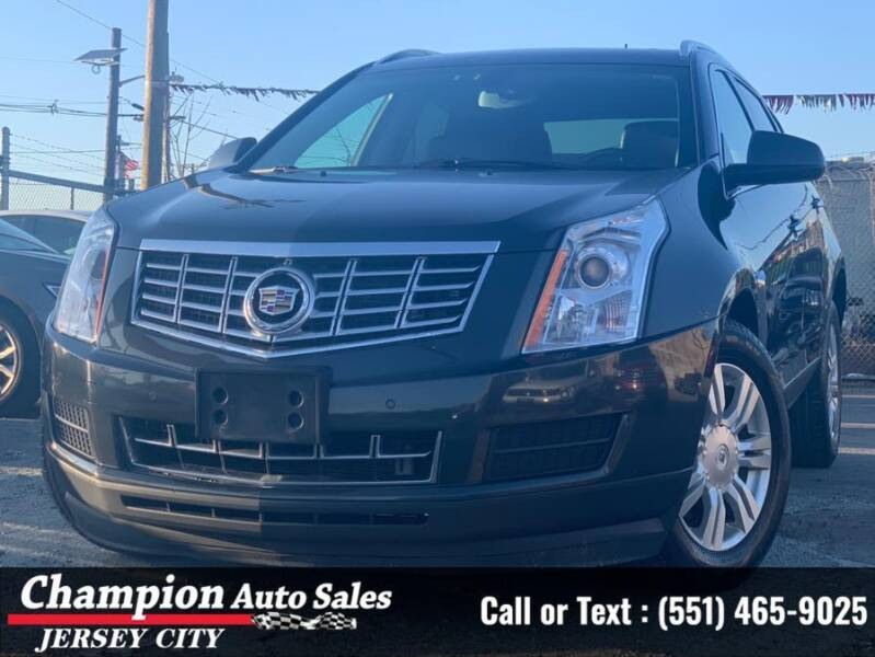 2015 Cadillac SRX for sale at CHAMPION AUTO SALES OF JERSEY CITY in Jersey City NJ