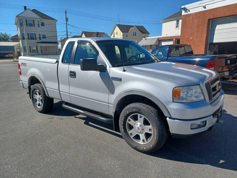 2005 Ford F-150 for sale at A J Auto Sales in Fall River MA