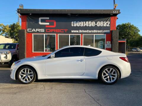 2015 Hyundai Genesis Coupe for sale at Cars Direct in Ontario CA
