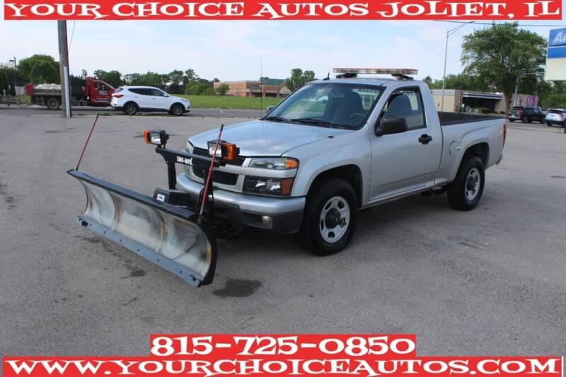 2010 Chevrolet Colorado for sale at Your Choice Autos - Joliet in Joliet IL