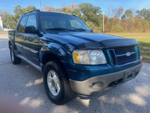 2001 Ford Explorer Sport Trac for sale at 100% Auto Wholesalers in Attleboro MA