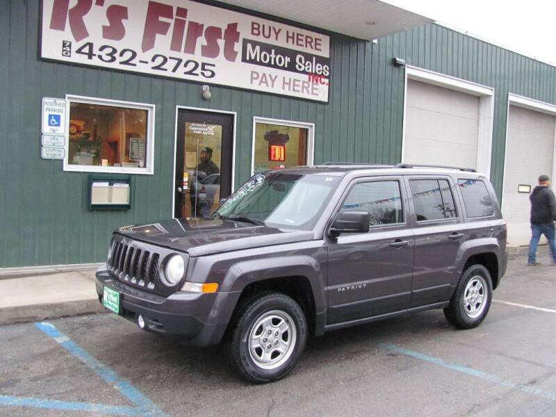 2015 Jeep Patriot for sale at R's First Motor Sales Inc in Cambridge OH