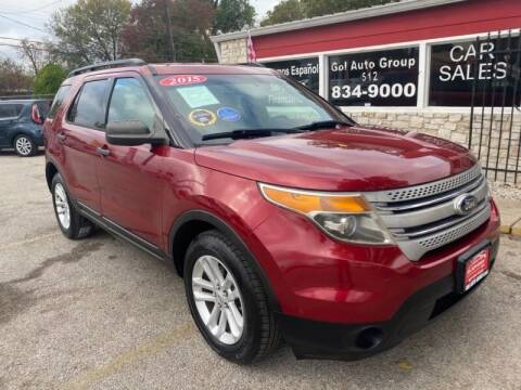 2015 Ford Explorer for sale at GOL Auto Group in Austin TX