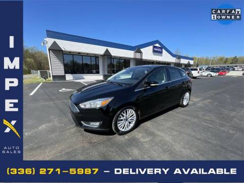 2017 Ford Focus for sale at Impex Auto Sales in Greensboro NC