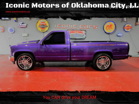 1989 GMC Sierra 1500 for sale at Iconic Motors of Oklahoma City, LLC in Oklahoma City OK