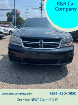 2013 Dodge Avenger for sale at R&R Car Company in Mount Clemens MI