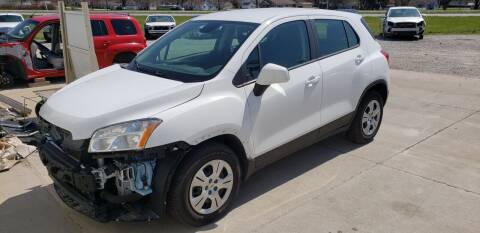 2016 Chevrolet Trax for sale at Adams Enterprises in Knightstown IN