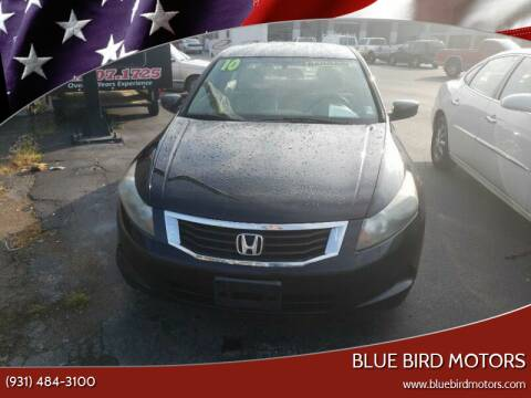 2010 Honda Accord for sale at Blue Bird Motors in Crossville TN