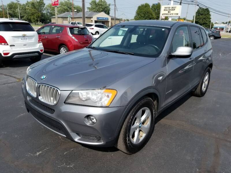 2012 BMW X3 for sale at Larry Schaaf Auto Sales in Saint Marys OH