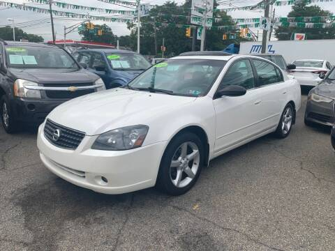 2005 Nissan Altima for sale at Park Avenue Auto Lot Inc in Linden NJ