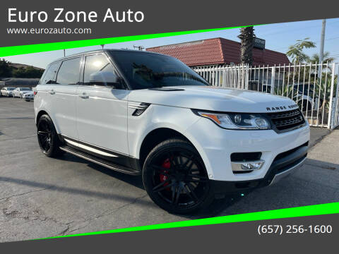 2014 Land Rover Range Rover Sport for sale at Euro Zone Auto in Stanton CA