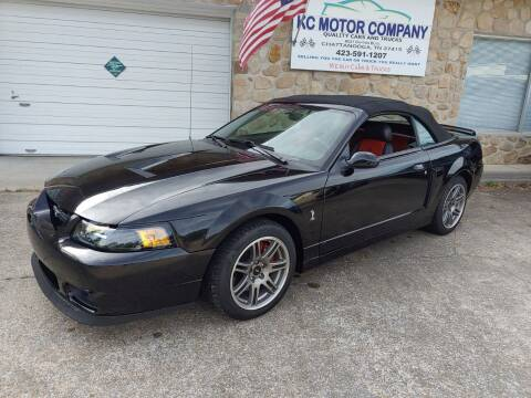 2003 Ford Mustang SVT Cobra for sale at KC Motor Company in Chattanooga TN