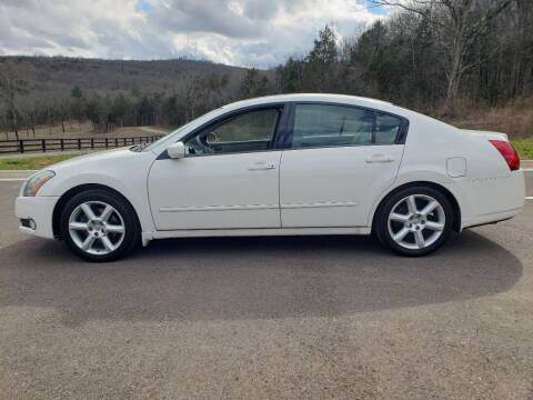 2004 Nissan Maxima for sale at Tennessee Valley Wholesale Autos LLC in Huntsville AL