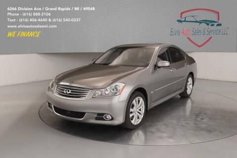 2008 Infiniti M35 for sale at Elvis Auto Sales LLC in Grand Rapids MI