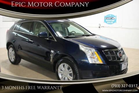 2011 Cadillac SRX for sale at Epic Motor Company in Chantilly VA