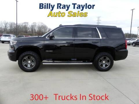 2016 Chevrolet Tahoe for sale at Billy Ray Taylor Auto Sales in Cullman AL