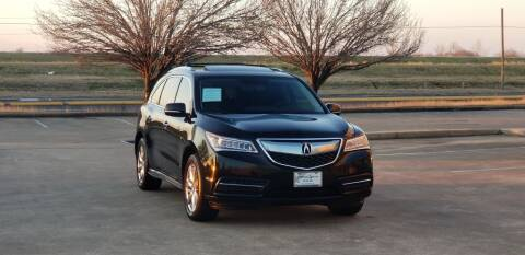 2014 Acura MDX for sale at America's Auto Financial in Houston TX
