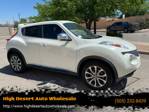 2012 Nissan JUKE for sale at High Desert Auto Wholesale in Albuquerque NM