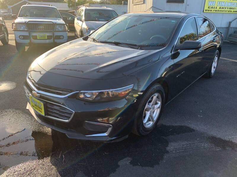 2017 Chevrolet Malibu for sale at Rock Motors LLC in Victoria TX