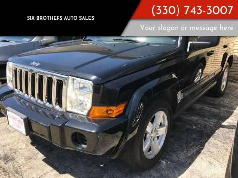 2006 Jeep Commander for sale at Six Brothers Auto Sales in Youngstown OH