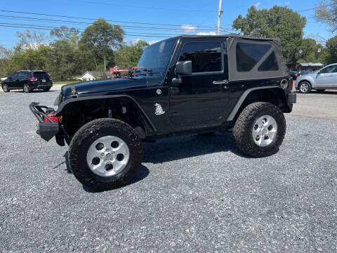 2012 Jeep Wrangler for sale at Adairsville Auto Mart in Plainville GA