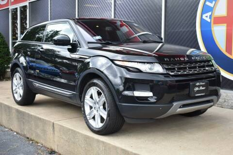 2014 Land Rover Range Rover Evoque Coupe for sale at Alfa Romeo & Fiat of Strongsville in Strongsville OH