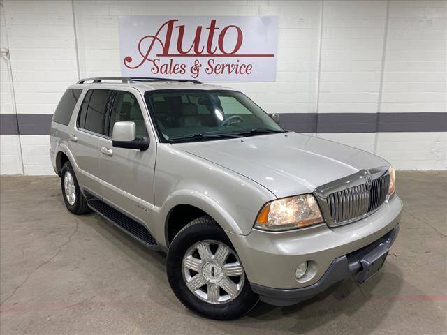 2005 Lincoln Aviator for sale at Auto Sales & Service Wholesale in Indianapolis IN