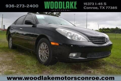 2004 Lexus ES 330 for sale at WOODLAKE MOTORS in Conroe TX