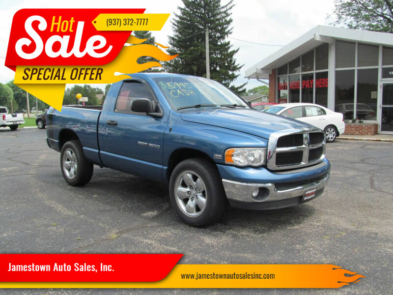 2005 Dodge Ram Pickup 1500 for sale at Jamestown Auto Sales, Inc. in Xenia OH