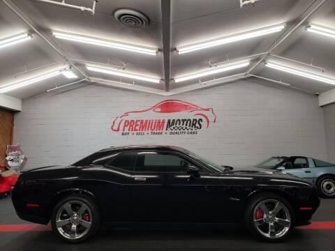 2015 Dodge Challenger for sale at Premium Motors in Villa Park IL