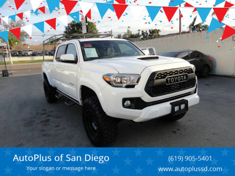 2018 Toyota Tacoma for sale at AutoPlus of San Diego in Spring Valley CA