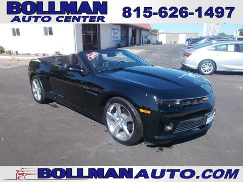 2015 Chevrolet Camaro for sale at Bollman Auto Center in Rock Falls IL