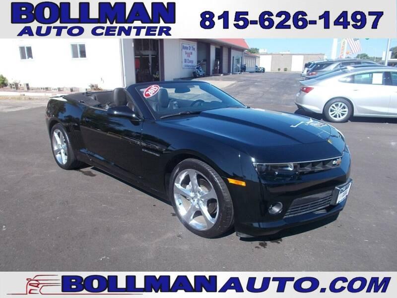 2015 Chevrolet Camaro for sale at Bollman Auto Center in Rock Falls IL