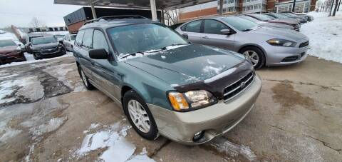 2001 Subaru Outback for sale at Divine Auto Sales LLC in Omaha NE