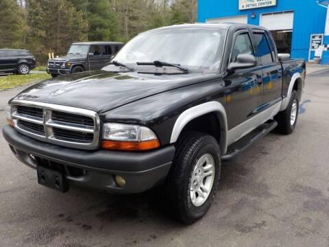 2004 Dodge Dakota for sale at RTE 123 Village Auto Sales Inc. in Attleboro MA