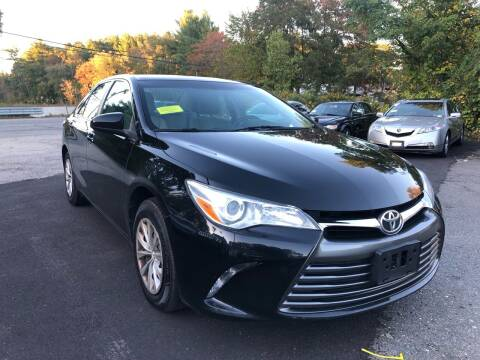 2016 Toyota Camry for sale at Royal Crest Motors in Haverhill MA
