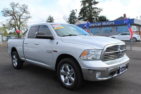 2015 RAM Ram Pickup 1500 for sale at All American Motors in Tacoma WA