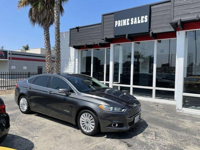 2016 Ford Fusion Hybrid for sale in Huntington Beach, CA