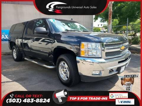 2012 Chevrolet Silverado 1500 for sale at Universal Auto Sales in Salem OR