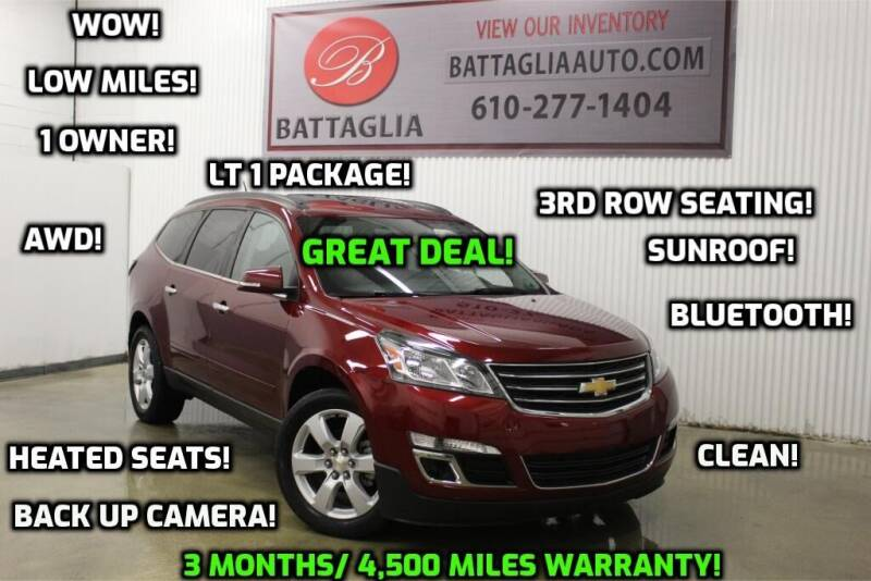 2017 Chevrolet Traverse for sale at Battaglia Auto Sales in Plymouth Meeting PA